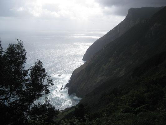 Schöner Blick auf den Atlantik