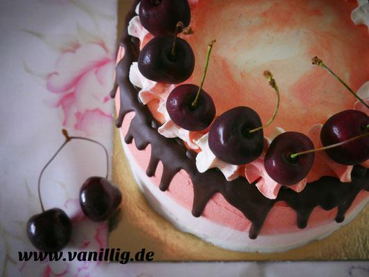Drip cake, dripping cake, Schokotorte, Ombre Look, Torte in ombre look, Torte