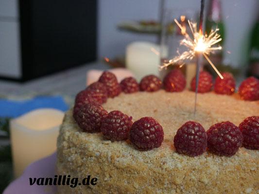 Honigkuchen, Torte, Honigtorte, russische Torte, russischer Kuchen, russischer Honigkuchen