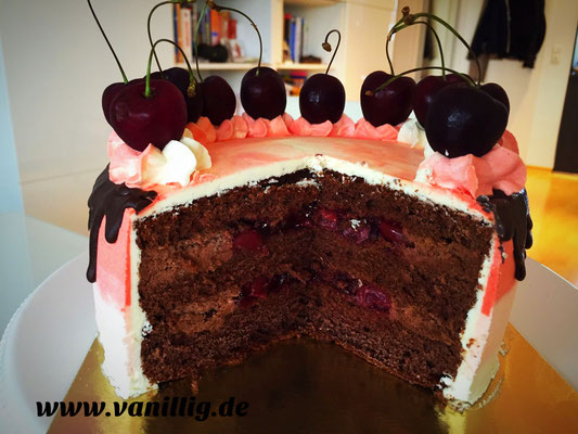 Drip cake, dripping cake, Schokotorte, Ombre Look, Torte in ombre look, Torte