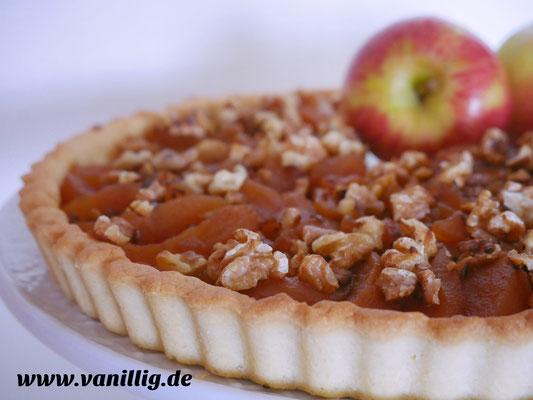 Apfelkuchen, Apfeltarte, Tarte, Buch Törtchen&Tartelettes