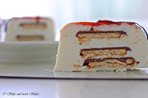 Torte aus Quark no-bake Torte Rezepte www.vanillig.de