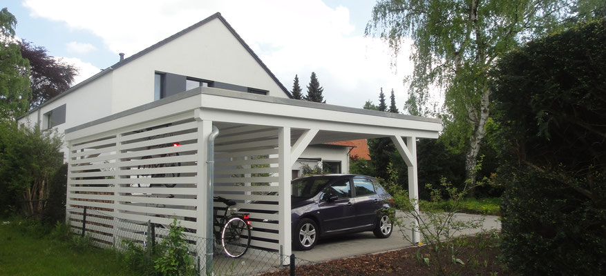 carport mit ger teraum solarterrassen carportwerk gmbh. Black Bedroom Furniture Sets. Home Design Ideas