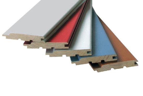 Holz Beschichtung in Wunschfarbe