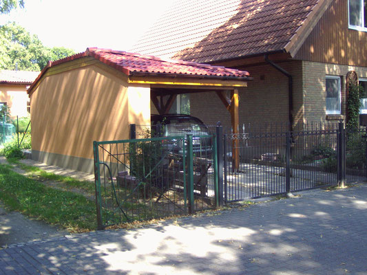 9. Walmdach Carport Galerie