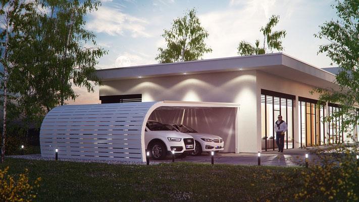Design Carport auf Sie zugeschnitten