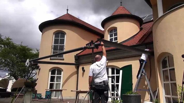 Montageservice Terrassendach Holz Carport Bausatz Solarterrassen