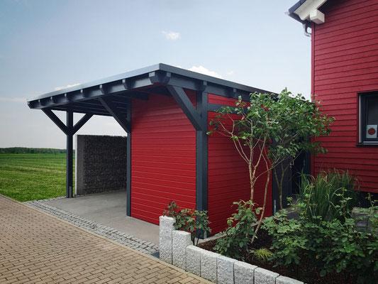 carport mit ger teraum solarterrassen carportwerk gmbh. Black Bedroom Furniture Sets. Home Design Ideas