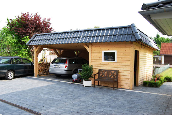 bilder flachdach carport nach ma solarterrassen. Black Bedroom Furniture Sets. Home Design Ideas