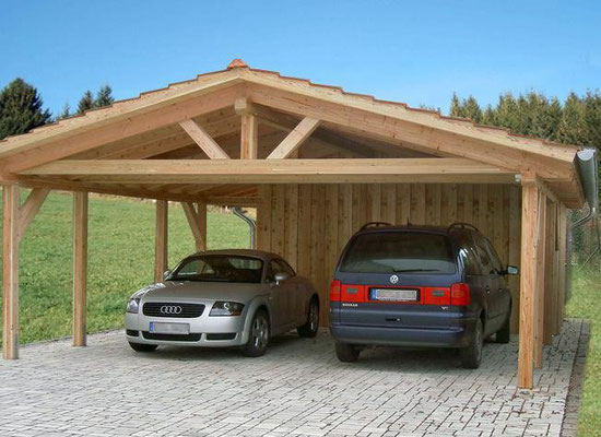 spitzdach carport bilder galerie solarterrassen carportwerk gmbh. Black Bedroom Furniture Sets. Home Design Ideas