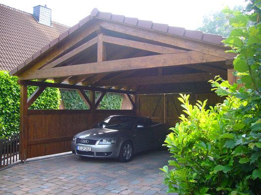 Carport für Cabrio