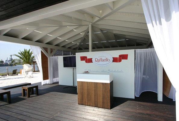 Raffaello Stand in Premium Holz Qualität