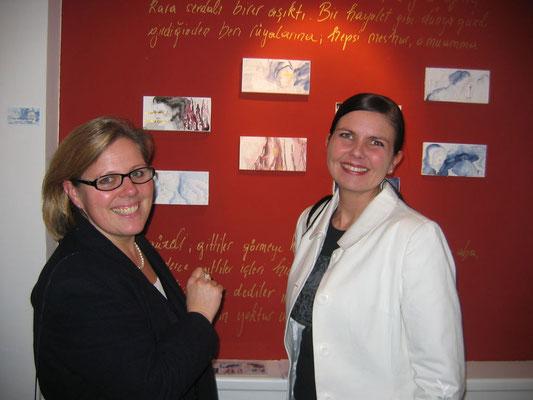 Christa Pullirsch und Astrid Hackl