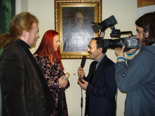 Alexandra Csongrady im Interview mit Kanal7 Avrupa
