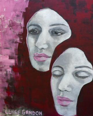 Acryl auf Leinwand - 100/80 cm - Untitled
