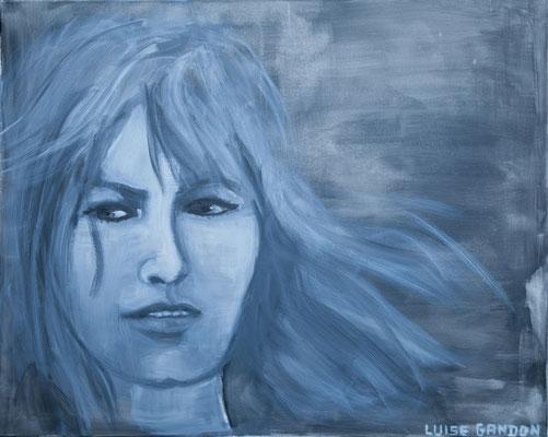 Acryl auf Leinwand – 100 x 80 cm   Nathalie