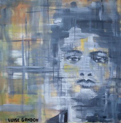 Acryl auf Leinwand – 80 x 80 cm   Hopeless