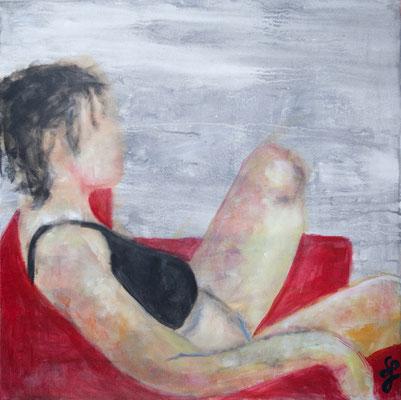 Acryl auf Leinwand – 70 x 70 cm   Relaxed