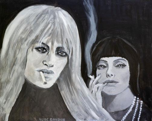 Acryl auf Leinwand - 100/80 cm - Addicted
