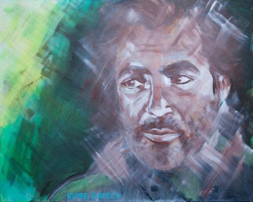 Acryl auf Leinwand – 100 x 80 cm
