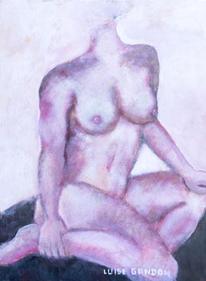 Acryl auf Leinwand - 80/60 cm