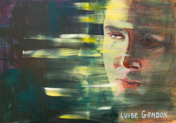 Acryl auf Leinwand – 100 x 70 cm