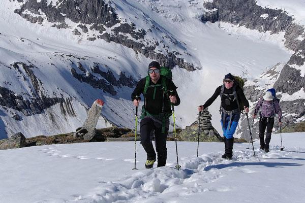 """Aufstieg zum Gletscher """"Obersulzbachkees"""" 1"""