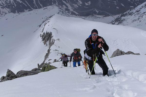 Aufstieg zum Keeskogel mit Bergführer im Nationalpark Hohe Tauern