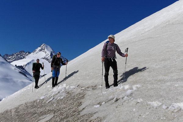 """Aufstieg zum Gletscher """"Obersulzbachkees"""" 2"""