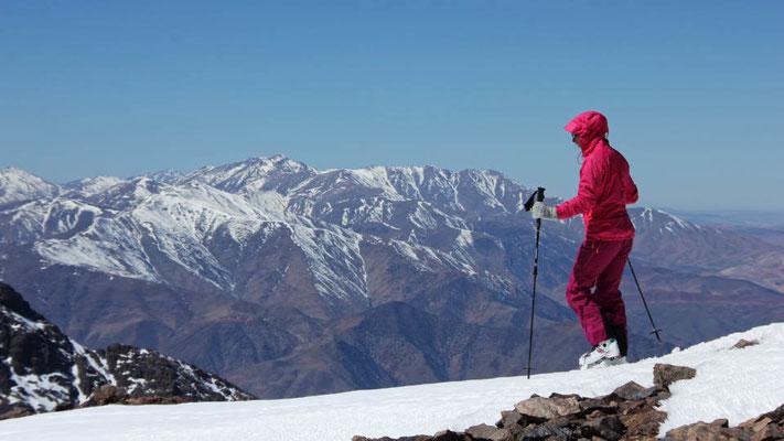 Unglaublich aber wahr, Schnee und Skitouren in Afrika / Hoher Atlas, Marokko