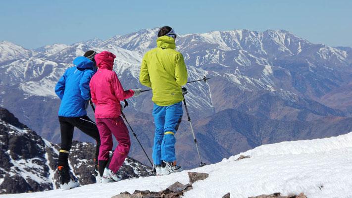 Wir blicken auf eine sehr schöne Skitourenreise in den Hohen Atlas (Marokko) zurück