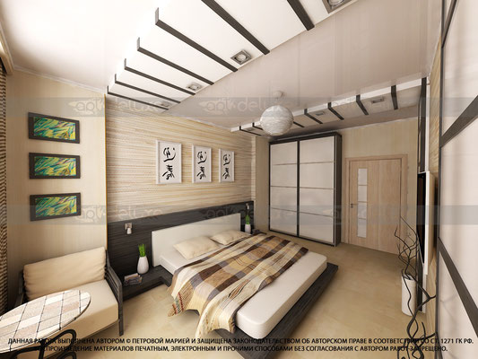 Дизайн спальни.