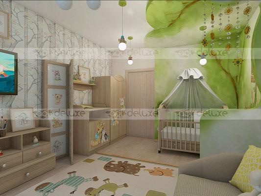 дизайн детской