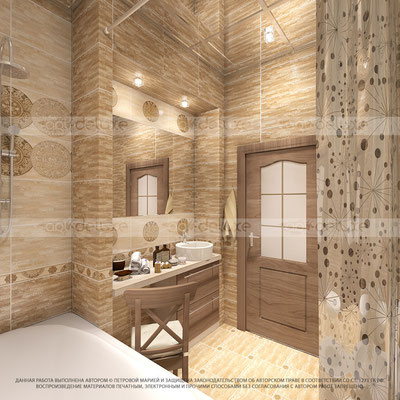 дизайн ванной комнаты ВИЗАВИ (VIZAVI) - ТЕХНОТАЙЛ (TECHNOTILE), Китай-Россия»Maya
