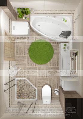 дизайн ванной комнаты АЛЬКОР (ALCOR), Испания»Monaco Monaco