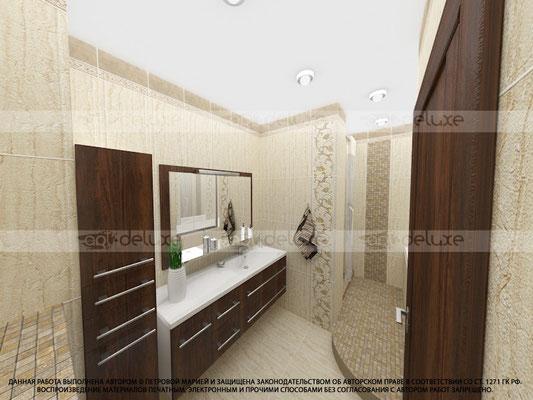 дизайн ванной комнаты ВИЗАВИ (VIZAVI) - ТЕХНОТАЙЛ (TECHNOTILE), Китай-Россия»Roma