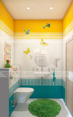 дизайн ванной комнаты PAMESA CERAMICA (Испания) AGATHA
