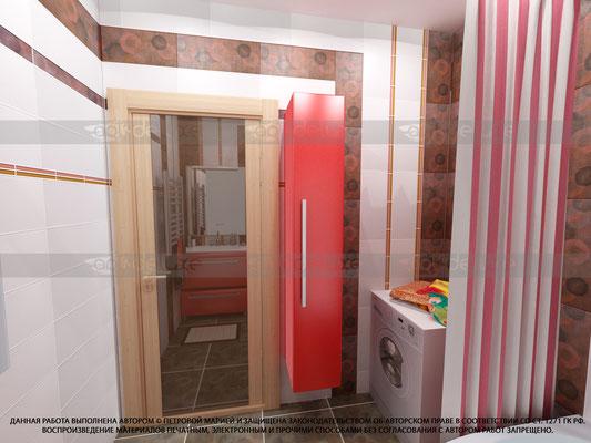 дизайн ванной комнаты kerama-marazzi
