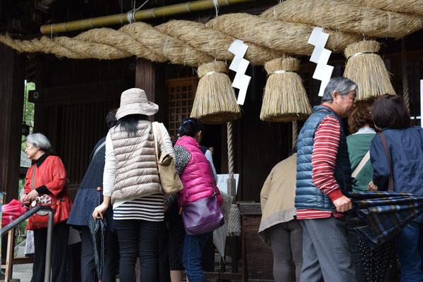 大宮神社で参拝
