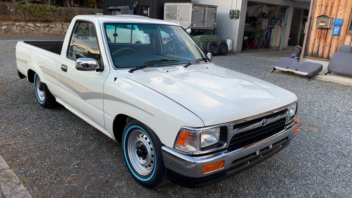 当時の綺麗なミニトラックを再現しただけです。派手なカスタムをした訳でもありません。うう...カッコイイ。