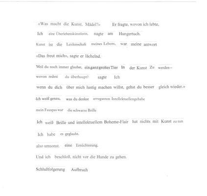 Buchseite Text