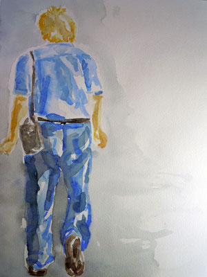 Paul,  Aquarell