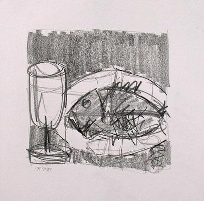 zu Tisch mit Fisch