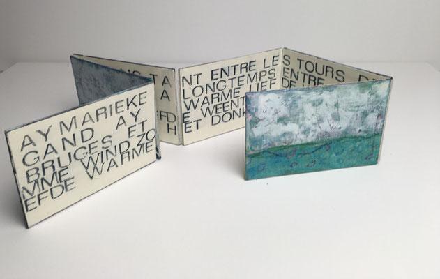 Seite B Textauszug aus dem chanson von Jaques Brel, Marieke