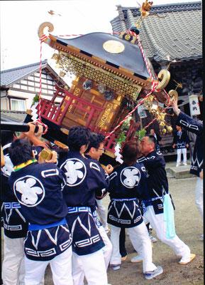 伝統ある四日市のお祭り