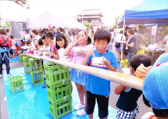 毎年のお楽しみ!大納涼祭!!
