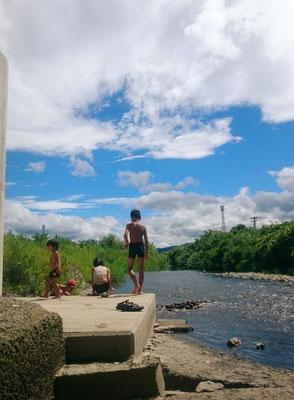 あふれる緑部門準グランプリ「「夏の門前川」」