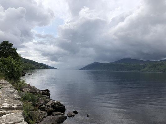 Welcome to Loch Ness ... sie war nicht da ... Schade.