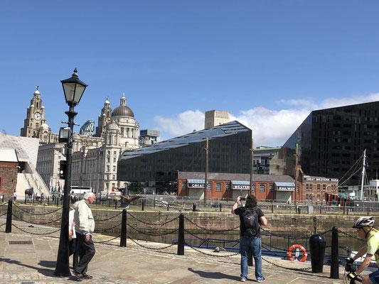 Liverpool ist ein schöner Mix aus alt und neu.