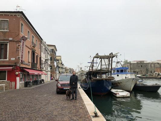 Chioggia, Mittagessen und Spaziergang am Kanal